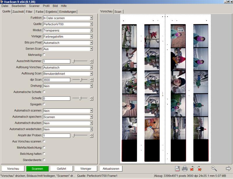 bild scannen und als jpg speichern
