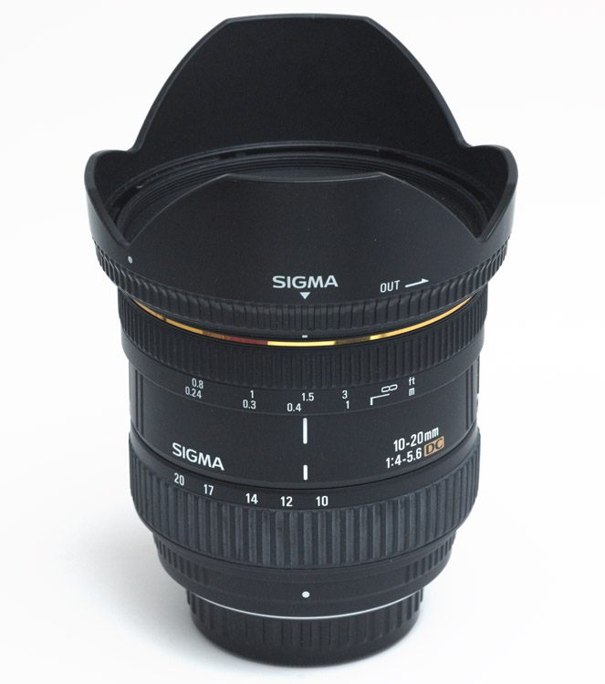 Sigma 10-20mm F 4-5.6 EX DC Zoomobjektiv