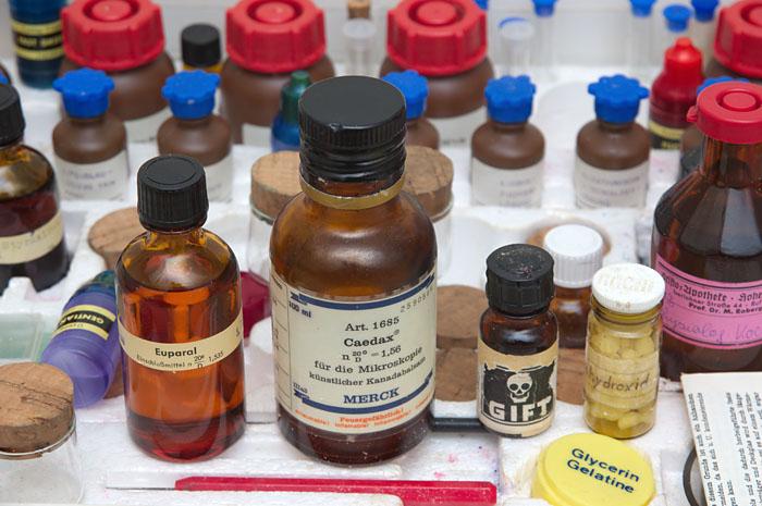 Präparate für die mikroskopie