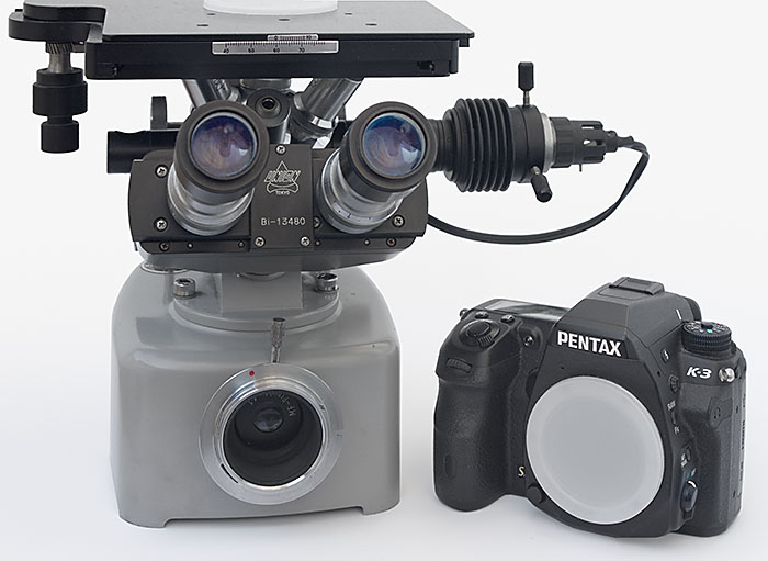 Unitron inverses mikroskop microscope