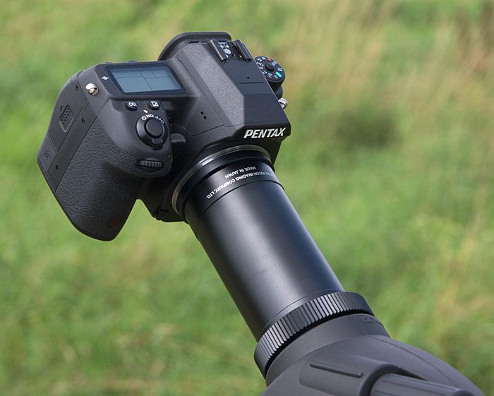 Pentax digiscoping adapter pf ca35 digiskopie review