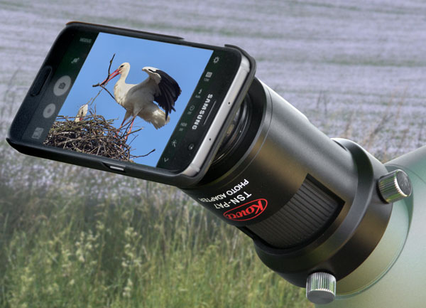 Digiscoping mit dem smartphone phonescoping iscoping