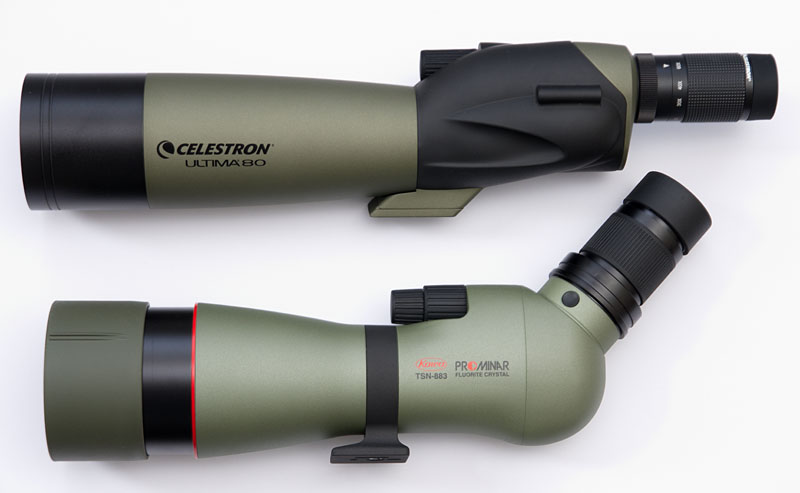 Spektiv. spotting scope