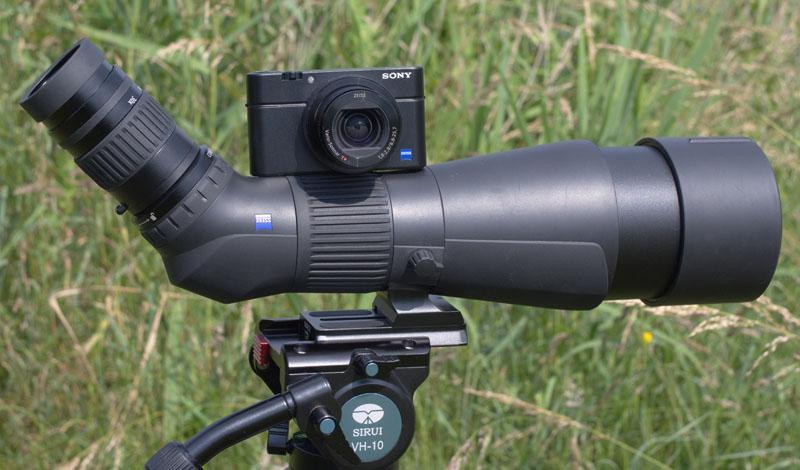 Swarovski optik stellt digiscoping adapter für systemkameras vor