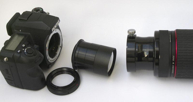 Teleskop kamera: fernrohr astronomie universal clip auf zoom
