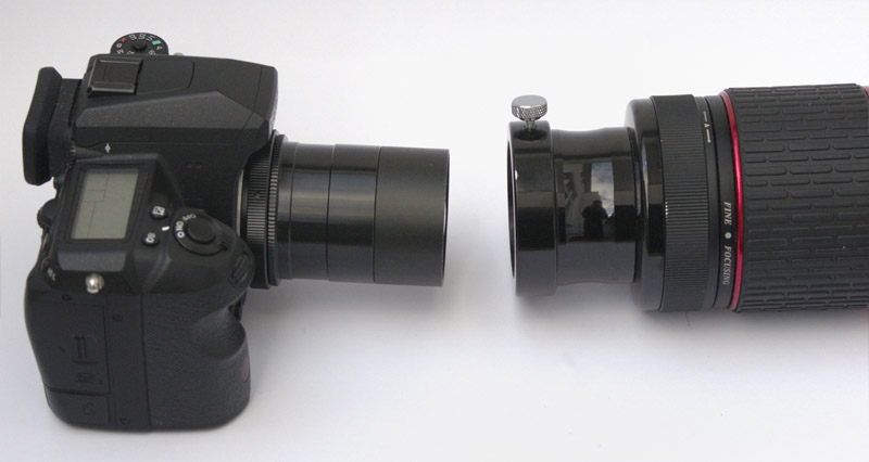 D print a camera to telescope adapter for nikon sony canon all dp
