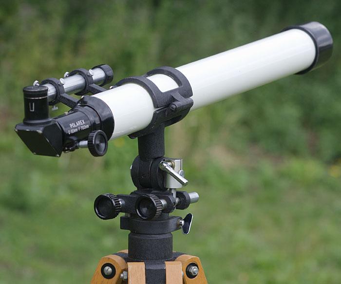 Polarex unitron 50 700 refraktor test review erfahrungsbericht