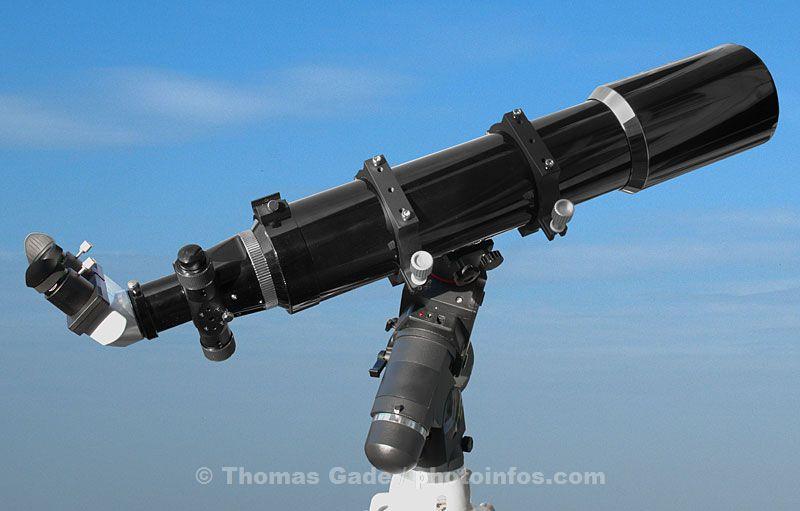 Skywatcher equinox ed 120mm apo refraktor test review teleskop